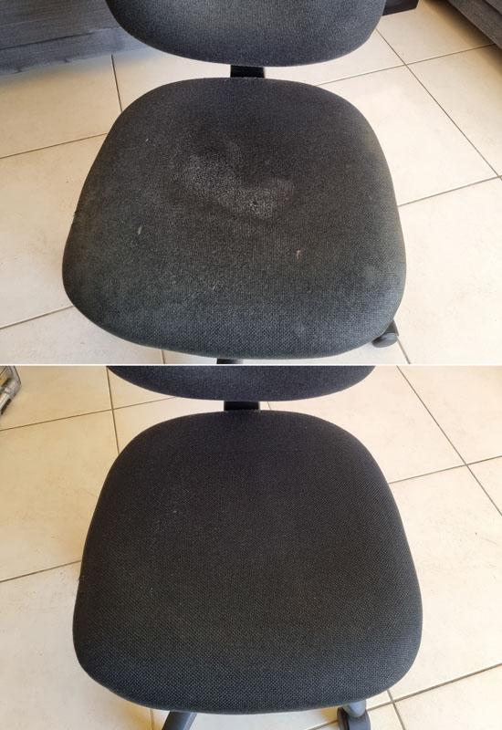 ניקוי כיסא משרדי